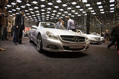 Mercedes sl 500 Stock Photos