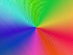 abstract rainbow surface, industry details - stock illustration