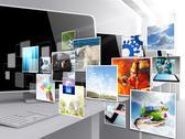 Internet streaming images Stock Illustration