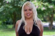 Stock Photo of beautiful blonde outdoor headshot (5)
