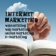 Online internet marketing. Stock Illustration