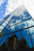 office building in boston, massachusetts - stock photo