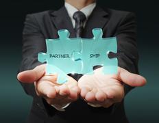 Stock Illustration of partnership