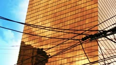 Skyscraper timelapsing - bangkok Stock Footage