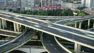 City Freeway, time lapse. Stock Footage
