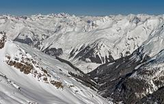 Snowy Alps Stock Photos