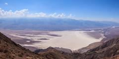 Stock Photo of panoramic view of the death valley in california - usa