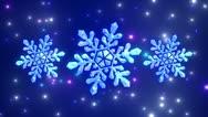 Snowflakes. Stock Footage