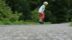 Waveboarder Stock Footage