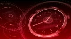 Time Flies - Hi-tech Clock 87 (HD) Stock Footage