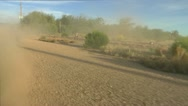 Stock Video Footage of Car Wheels Dirt Road