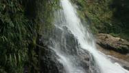 Silver waterfall in Sapa Stock Footage