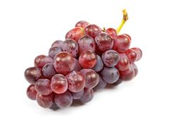 Cluster of ripe grapes Stock Photos