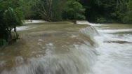 Tat Kuang Si waterfall Stock Footage