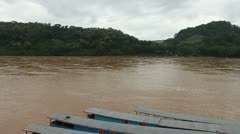 Mekong river Stock Footage