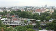 Aerial view of Bangkok Stock Footage