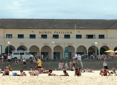 Bondi Beach Pavilion, Australia Stock Photos