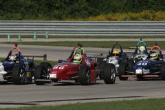 Formula One Cars Racing Stock Photos