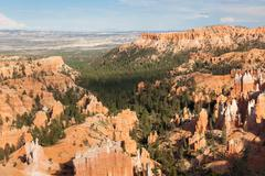 bryce canyon national park in utah - stock photo