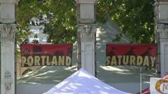 Portland Oregon Stock Footage