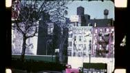 Tenement Apartments SLUM HOUSING NYC 1940s Vintage Retro Film Home Movie 4732 Stock Footage