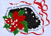Winter flower Stock Illustration
