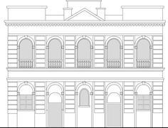 Stock Illustration of heritage mansion building