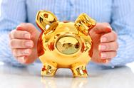 Stock Photo of piggy bank.