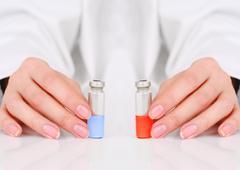 vaccine. - stock photo