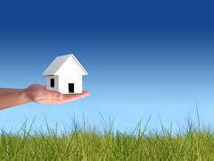 buy new house. - stock photo