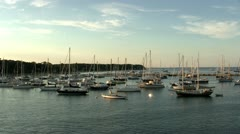 Vineyard Haven Martha's Vineyard - stock footage