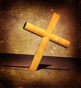 holy cross - stock photo