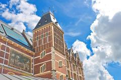 Rijksmuseum in amsterdam. netherlands Stock Photos