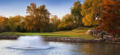 autumn tranquility - stock photo