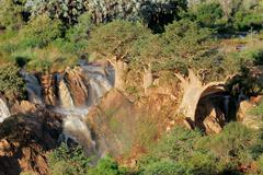 Upupa falls, Namibia - stock photo