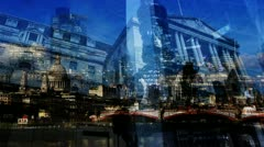 City of London - Montage mix Stock Footage