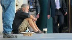 Homeless in Las Vegas 2715 Stock Footage