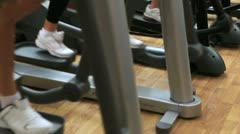 Cross trainer Stock Footage