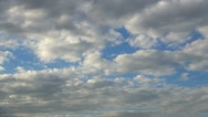 Clouds, Timelapse Stock Footage