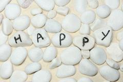Stock Photo of happy word