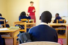 Young African Student - stock photo