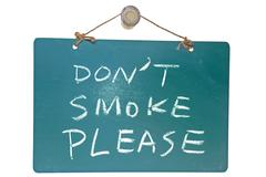 don't smoke please - stock photo