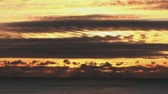 Sun Beams and Clouds Stock Footage