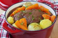 Beef pot roast Stock Photos
