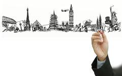 Stock Illustration of the dream travel