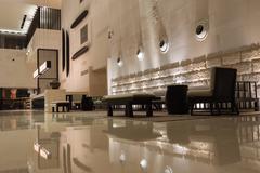 Stock Photo of modern hotel interior