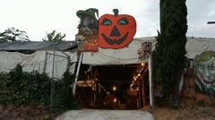 Pumpkin Patch Exterior - stock footage