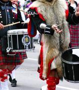 Kilted rumpali marssi-yhtye Kuvituskuvat