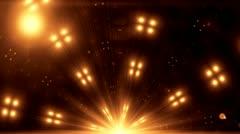Spectrum lights Concert Spot Bulb 3 - stock footage