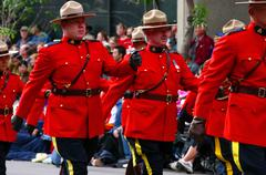 Stock Photo of royal canadian mounted police